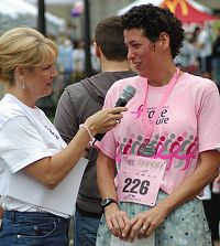 Komen Race for the Cure photo by J.R. Petsko