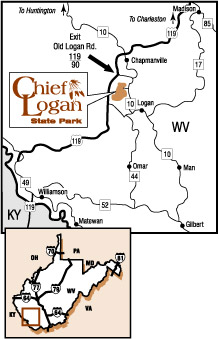 Chief Logan Map