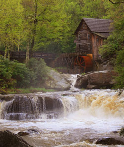 Gristmill photo by Julie Black